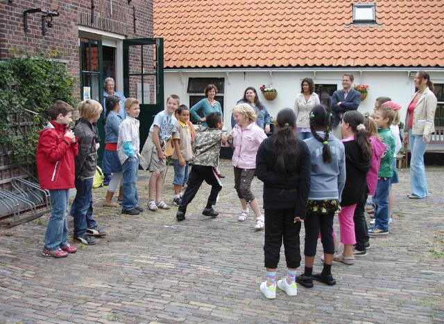 zwerfwandeling voor kids door de geschiedenis van Loosduinen